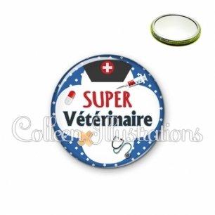Miroir 56mm Super vétérinaire (002BLE01)