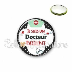 Miroir 56mm Docteur patient (002NOI01)