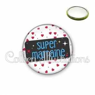 Miroir 56mm Super marraine (003BLA01)