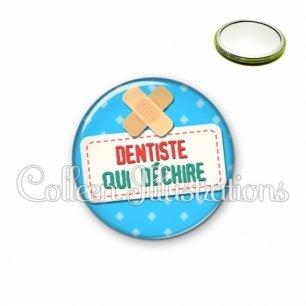 Miroir 56mm Dentiste qui déchire (003BLE02)