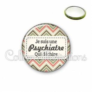 Miroir 56mm Psychiatre qui déchire (003MUL01)