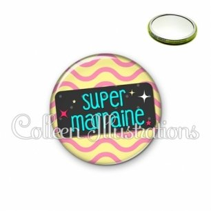 Miroir 56mm Super marraine (003MUL04)