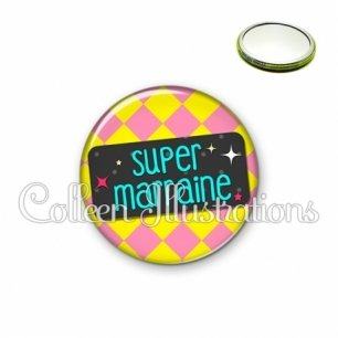 Miroir 56mm Super marraine (003MUL05)