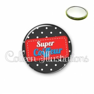 Miroir 56mm Super coiffeur (003NOI01)