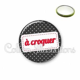 Miroir 56mm A croquer (003NOI04)