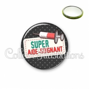 Miroir 56mm Super aide-soignant (003NOI05)