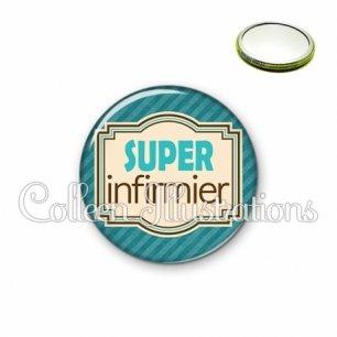 Miroir 56mm Super infirmier (004BLE01)