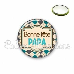 Miroir 56mm Bonne fête papa (004MUL01)