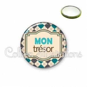 Miroir 56mm Mon trésor (004MUL01)