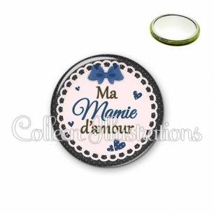Miroir 56mm Mamie d'amour (005BLE07)