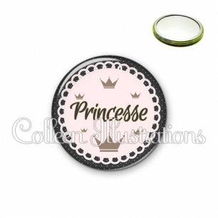 Miroir 56mm Princesse (005NOI02)