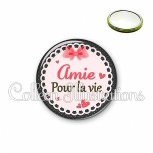 Miroir 56mm Amie pour la vie (005ROS01)