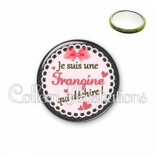 Miroir 56mm Frangine qui déchire (005ROS01)