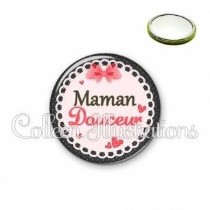 Miroir 56mm Maman douceur (005ROS01)