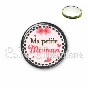 Miroir 56mm Ma petite maman (005ROS01)