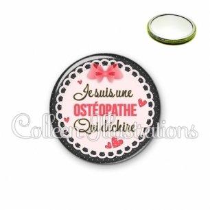 Miroir 56mm Osthéopathe qui déchire (005ROS01)