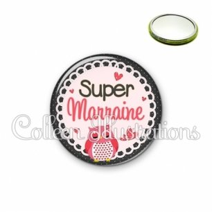 Miroir 56mm Super marraine (005ROS02)