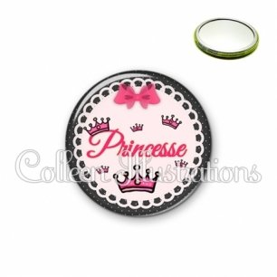 Miroir 56mm Princesse (005ROS04)