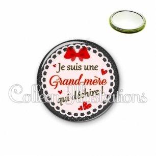 Miroir 56mm Grand-mère qui déchire (005ROU01)