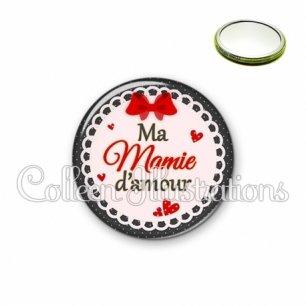 Miroir 56mm Mamie d'amour (005ROU01)