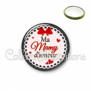 Miroir 56mm Mamy d'amour (005ROU01)