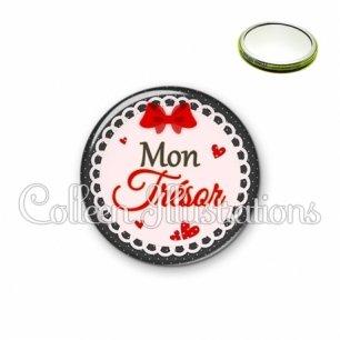 Miroir 56mm Mon trésor (005ROU01)