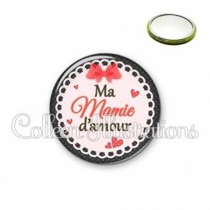 Miroir 56mm Mamie d'amour (005ROU05)