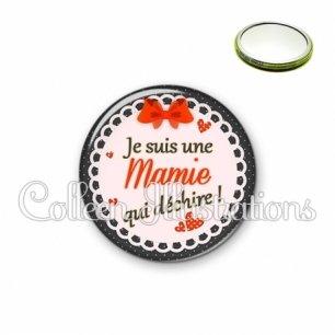 Miroir 56mm Mamie qui déchire (005ROU05)