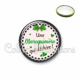 Miroir 56mm Maroquinière qui déchire (005VER03)