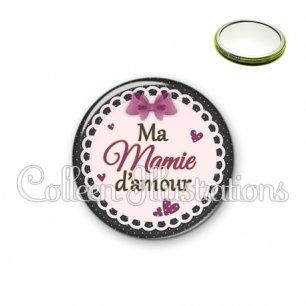 Miroir 56mm Mamie d'amour (005VIO01)