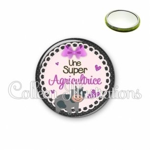 Miroir 56mm Super agricultrice (005VIO05)