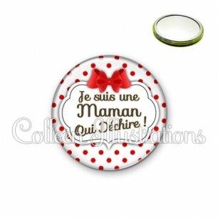 Miroir 56mm Maman qui déchire (006BLA03)