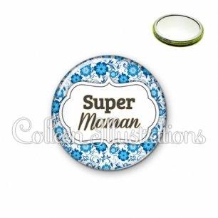 Miroir 56mm Super maman (006BLE02)
