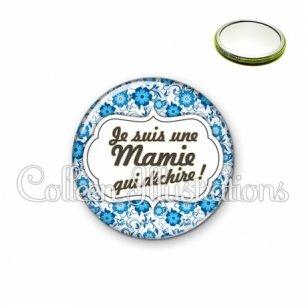 Miroir 56mm Maman qui déchire (006BLE02)