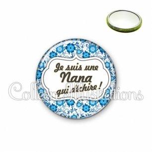Miroir 56mm Nana qui déchire (006BLE02)
