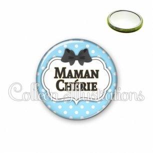 Miroir 56mm Maman chérie (006BLE08)