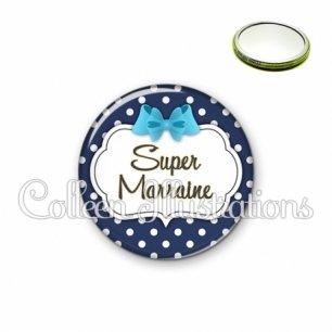 Miroir 56mm Super marraine (006BLE16)