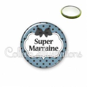 Miroir 56mm Super marraine (006BLE25)