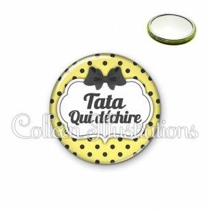 Miroir 56mm Tata qui déchire (006JAU01)