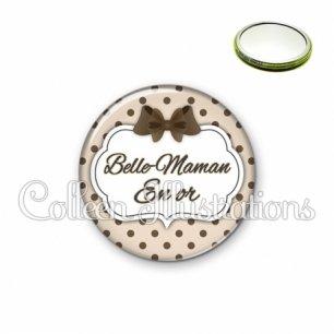 Miroir 56mm Belle-maman en or (006MAR07)