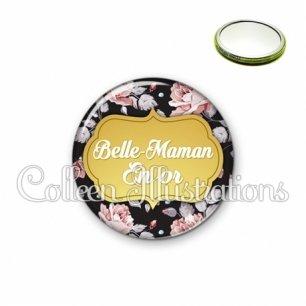 Miroir 56mm Belle-maman en or (006MUL12)
