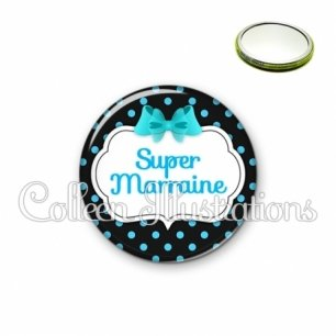 Miroir 56mm Super marraine (006NOI05)