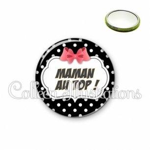 Miroir 56mm Maman au top (006NOI13)