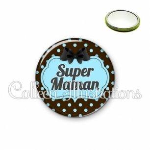 Miroir 56mm Super maman (006NOI18)