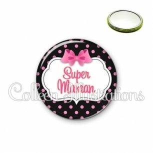 Miroir 56mm Super maman (006NOI21)