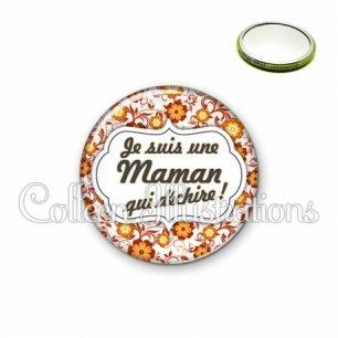 Miroir 56mm Maman qui déchire (006ORA04)