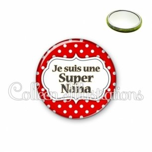 Miroir 56mm Super nana (006ROU02)