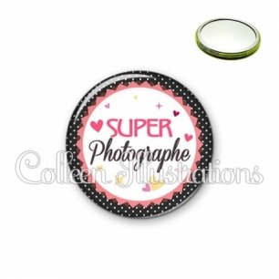 Miroir 56mm Super photographe (007NOI01)