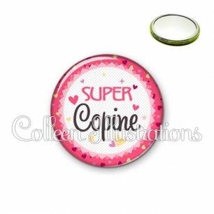 Miroir 56mm Super copine (007ROS01)