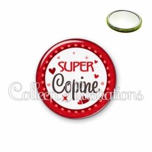 Miroir 56mm Super copine (007ROU01)